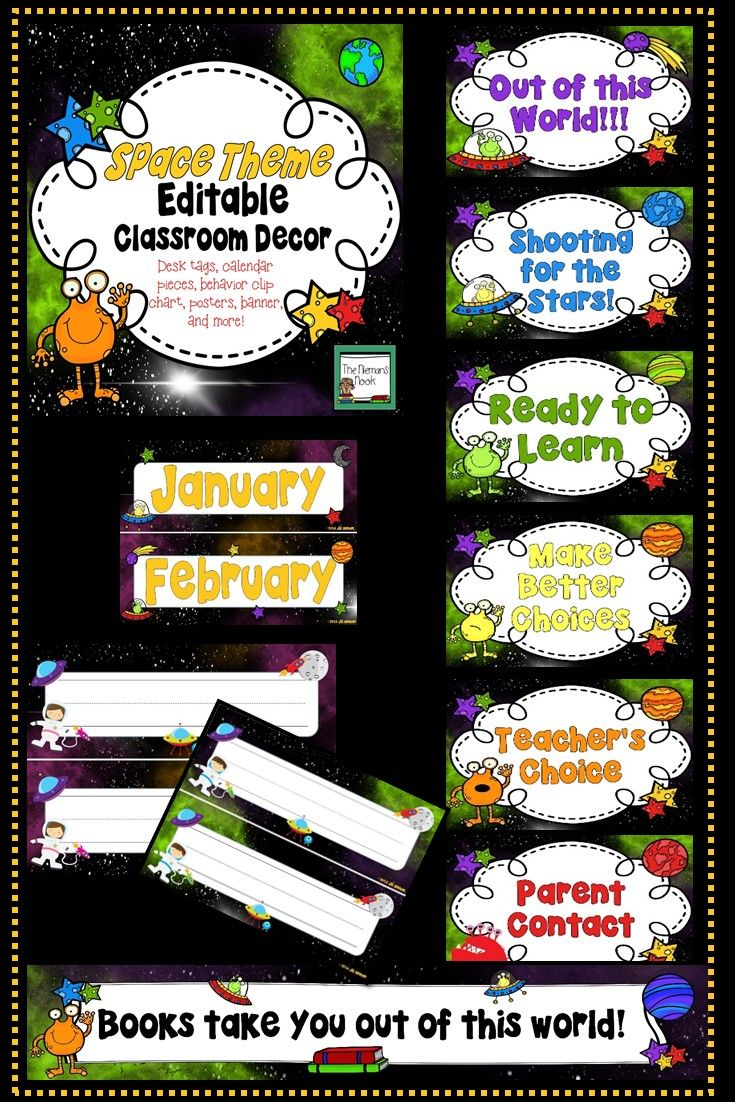 Editable Classroom Decor ~ Images about back to school on pinterest first day