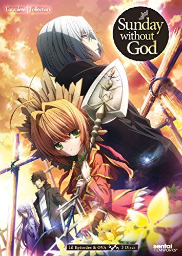 Sunday Without God: Complete Collection-  Fifteen years ago on a Sunday, God abandoned the world and closed the gate to Heaven, leaving the souls of humankind trapped in limbo. With the dead unable to rest and the living unable to have children, the world is slowly coming to a halt. The only key to mankind's salvation rests with the Gravekeepers, mysterious beings charged with the task of sending the deceased to their final resting place.