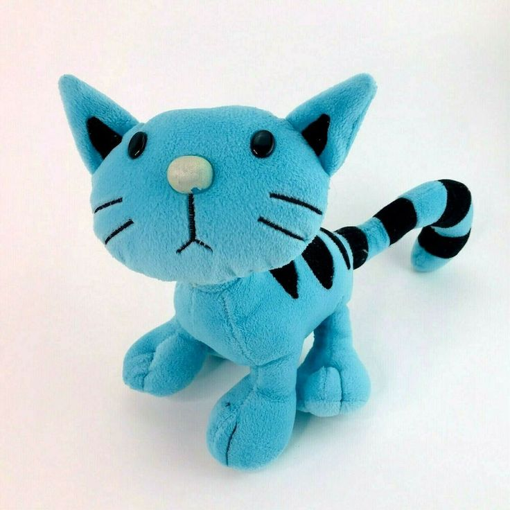 Vintage 90s Pilchard the Cat from Bob the Builder Soft ...