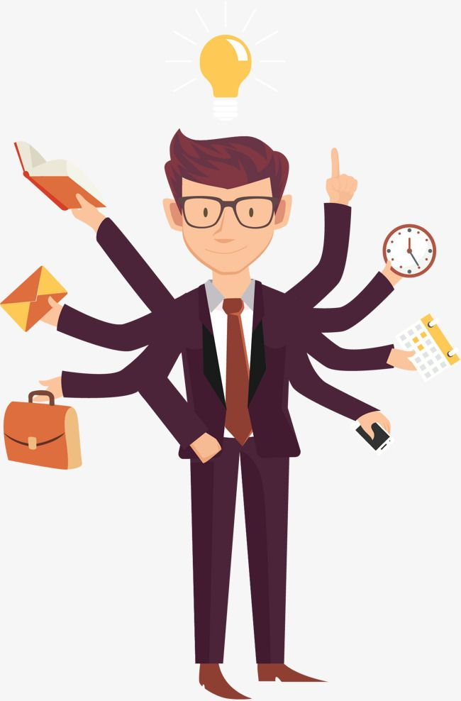 Busy Cartoon Business People Love Work Office Worker Cartoon Png Transparent Clipart Image And Psd File For Free Download Business People Cartoon Png