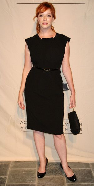 Christina Hendricks Photos: TV Academy Honors Emmy Nominees For Outstanding Writing