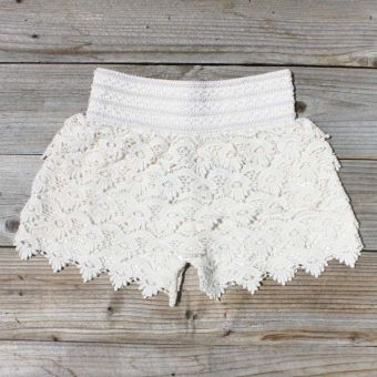 Easy Rider Shorts in Ivory...Style, Ivory Lace, Easy Rider, Sweets Country, Women Sweets, Lace Shorts, Rider Shorts, Shorts Country Dresses, Country Clothing