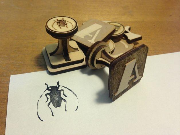 Stamp Base by Mutsuki - Thingiverse