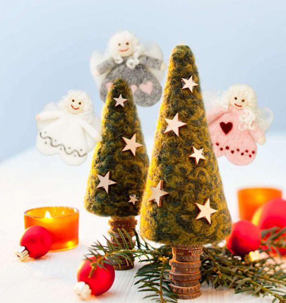 Filzideen für Weihnachten
