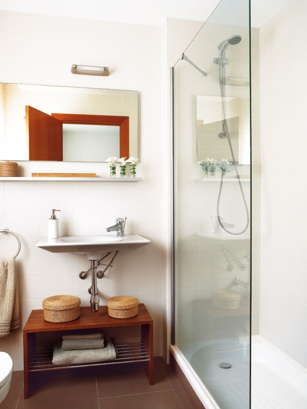 25 best images about ba o on pinterest vanities small for Banos interiores