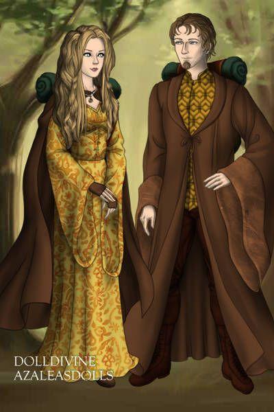 Luna Lovegood & Rolf Scamander on an adventure by Merry ~ High Fantasy Dress Up
