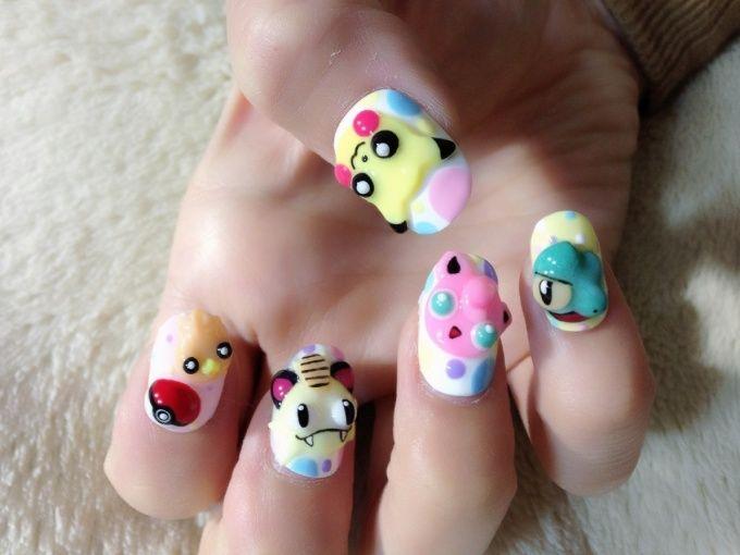 Pokemon Nails!! (1/9)