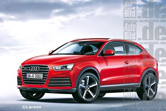 Wer auf rundgelutschte SUVs - vielleicht sogar ohne Allrad steht - könnte künftig mit Audis erweiterter Q-Familie glücklich werden...