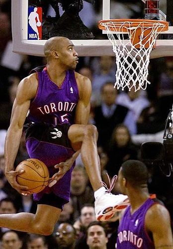 Vince Carter ready to dunk