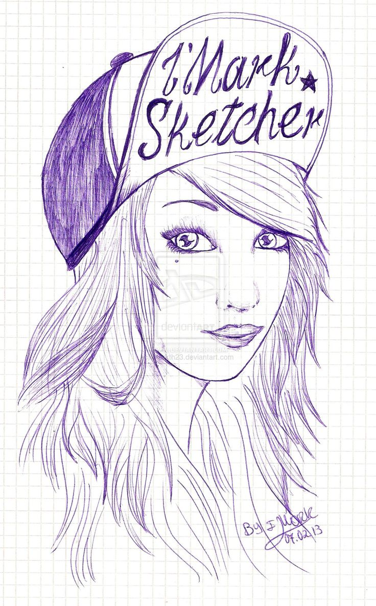 Cute Drawing Ideas For Girls