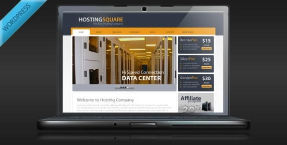 Hosting Theme Wordpress