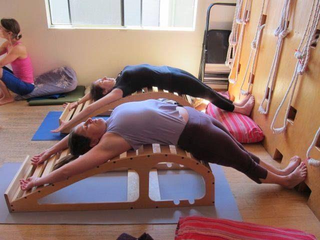 128 Best Iyengar Yoga With Props Images On Pinterest Iyengar Yoga Asana And Bench