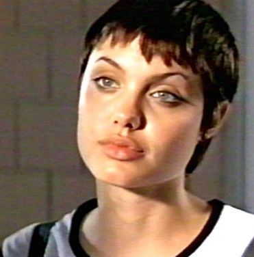 Angelina Jolie in Hackers (1995). She was 20 years old.