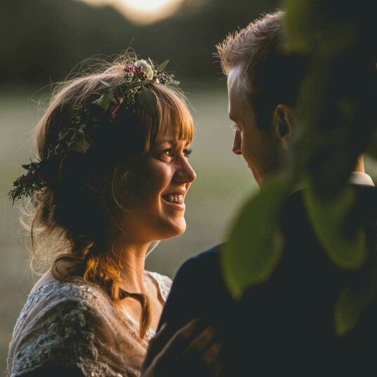 Beautiful photo by ben minaar in the golden hour light on our wedding day.
