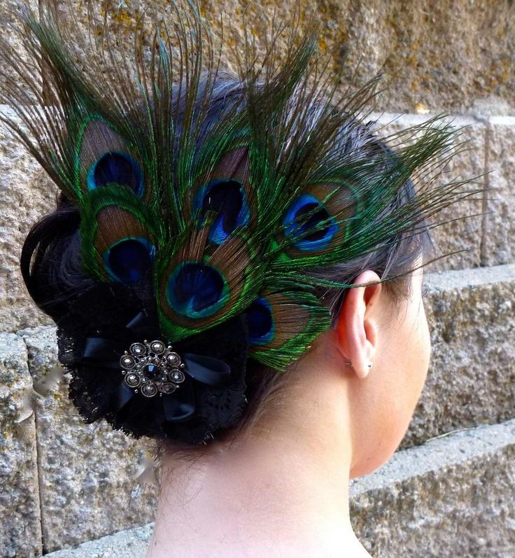 Peacock Headpiece For Wedding: Wedding Makeup & Hair In 2019