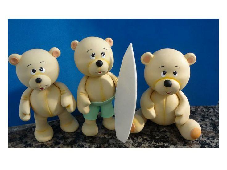 Ursinhos Surfistas - (12 cm)