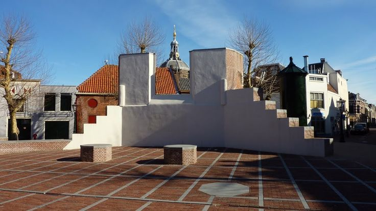 Vrouwenkerkhof als exporuimte in het Pilgrim Fathers-jaar