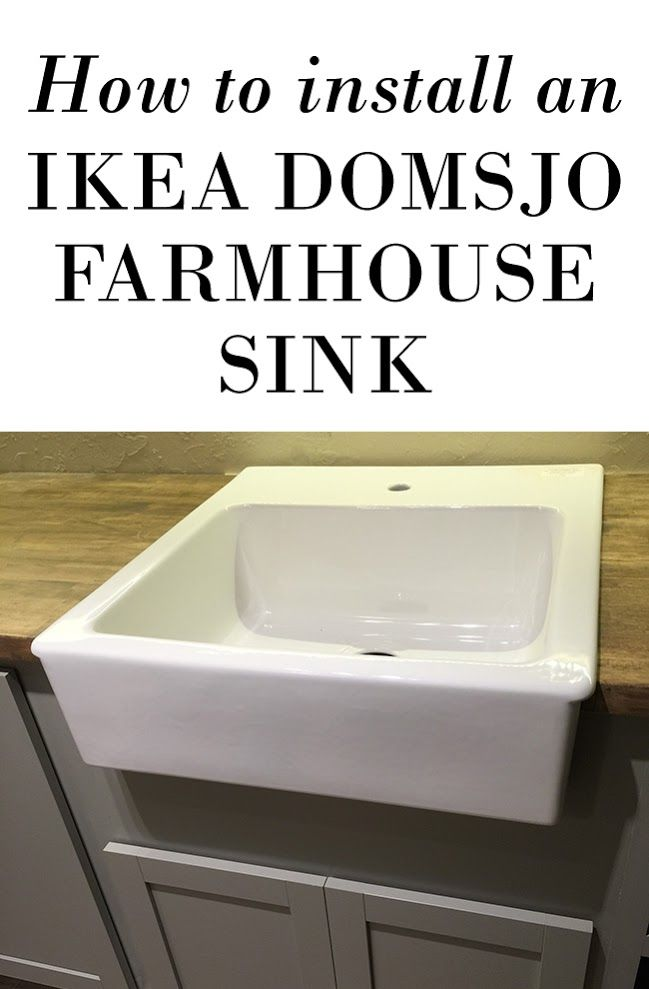 Etagere Rangement Jouet Ikea ~ How to mount an Ikea Domsjo farmhouse sink onto non Ikea cabinets