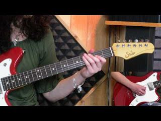 """Chelsea Constable: Signature Tone/ Solo Lesson - """"Hot for Teacher"""" by Van Halen   Hey everyone! Just wanted to let you check out my new TC Electronic """"Signature Tone Series"""". This is a series where I will be doing a signature tone of some of my favorite guitarists utilizing some of TC Electronic's amazing products. I also want to thank Suhr Custom Guitars amps and pickups (guitar used - Suhr Classic JM Pro amp used Suhr Hedgehog 50 cab used Suhr 2X12 loaded with Celestion Heritage Series…"""