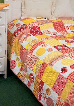 Summer Sorbet from Best Fat Quarter Quilts 2012