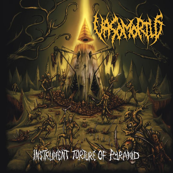 """""""Death in its rawest, most brutal form, and they do it well"""" says Dutch Metal Maniac about the new VASOMORTUS album Instrument Torture Of Pyramid out now on Brute! Productions http://timvv9.blogspot.nl/2015/05/review-vasomortus-instrument-torture-of.html  Listen to and purchase your copy here: http://vasomortus.bandcamp.com  FullBlast!PR http://www.fullblastpr.info Metal Music Promotion and PR"""