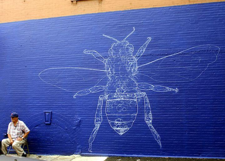 Jufe street art East Harlem NYC Los Muros Hablan NYC in East Harlem and the South Bronx: Axel Void, Pastel, Celso Gonzalez & Roberto Biaggi, Viajero, Rimx, Betsy Casañas, LNY, Jufe and Elian