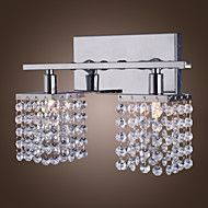 25W G9 Crystal and Metal Wall Lamp with 2 lights. Save up to 80% Off at Light in the Box with Coupon and Promo Codes.