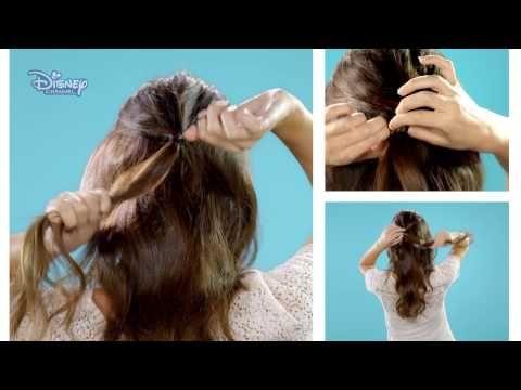 Hair Tutorial | Sabrina Carpenter Half Rose Bun - YouTube