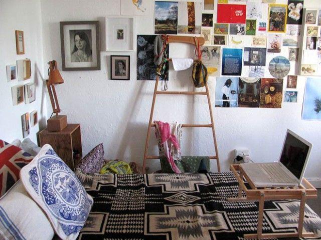 les 25 meilleures id es de la cat gorie chambres coucher hipster sur pinterest couvre lits. Black Bedroom Furniture Sets. Home Design Ideas