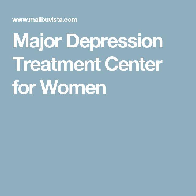 Major Depression Treatment Center for Women