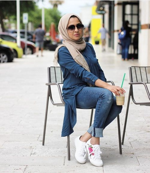 Hijab outfits collection for winter – Just Trendy Girls