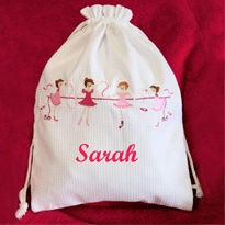 Personalised Ballet Bag Ballerina - Personalised gifts for kids