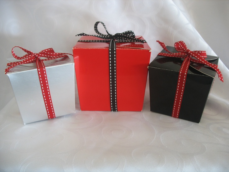 Red, Black and Silver Gifts