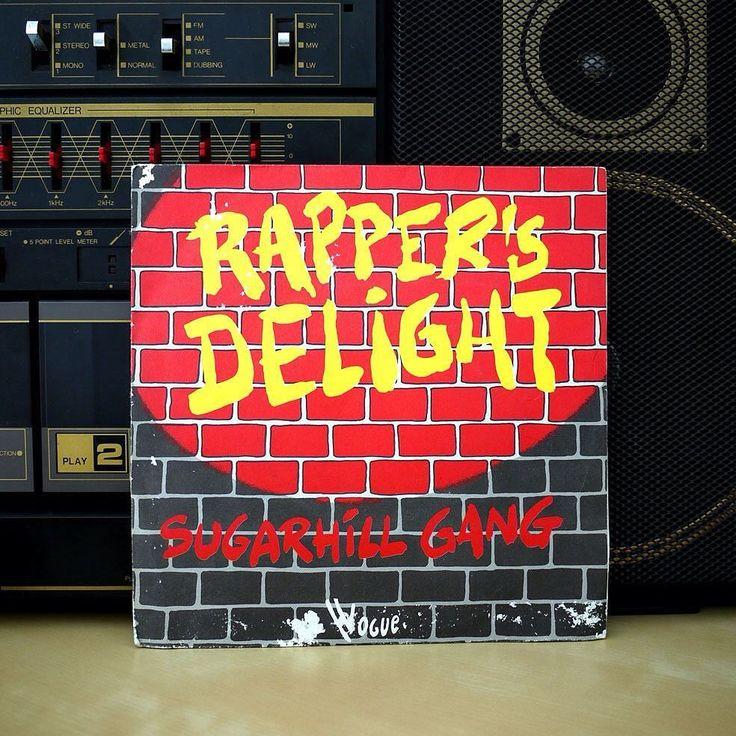 "Sugarhill Gang | Rapper's Delight 7"" | Artwork : Unknown | 1979 | Found at a flea market  #sugarhillgang #rappersdelight #1979 #vinyl #record #45rpm #seveninch #illustration #vinyljunkie #vinylcollection #vinyligclub #nowspinning #recordcollection #hiphop #electronic #pop #rap #disco #funk #oldschool #ghettoblaster #newjersey #70s #breakdance #bboy #sugarhillrecords #vintage by boredom84"