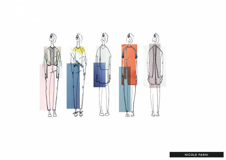 Industry Design project for Nicole Farhi - Self Directed