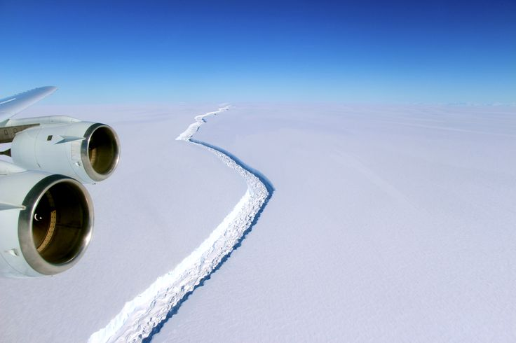 The crack in this Antarctic ice shelf just grew by 11 miles. A dramatic break could be imminent.