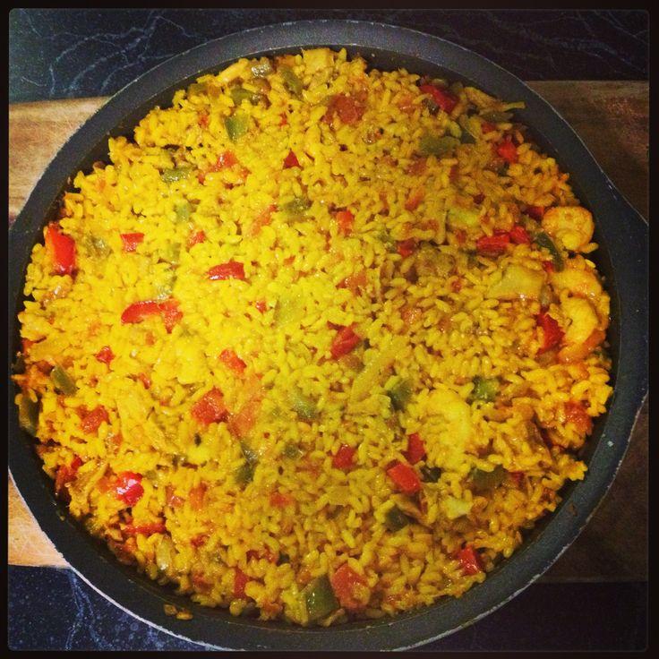 Chicken Paella | Just Me :) | Pinterest