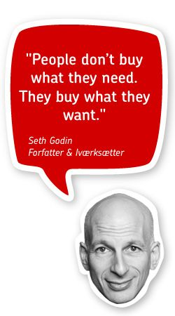 seth godin_people don´t buy what they need