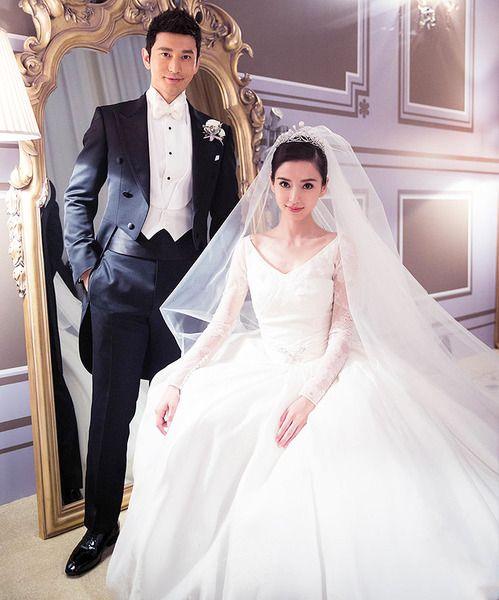 Свадьба китайских актеров, 37-летнего Хуана Сяомина и 26-летней Angelababy, которая состоялась 8 октября 2015г., обошлась в 31 миллион долларов!  Такая совсем не детская сумма набежала по итогам этого торжества, где значительная часть ее ушла на один только образ невесты и свадебный торт!  Сначала была проведена традиционная китайская чайная церемония, а вечером состоялась роскошная торжественная церемония в Шанхайском выставочном центре, тема свадьбы была сказочный замок.