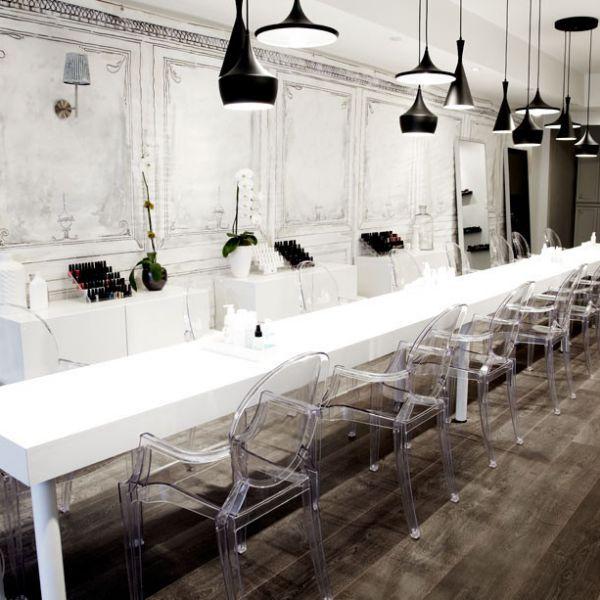 188 best salon spaces to die for images on pinterest - Bar salon design ...