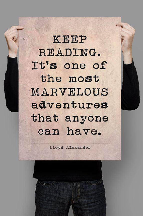 9 best online e book images on pinterest tutorials pdf and book lloyd alexander quote printable art literary quote printable quotes quote instant download fandeluxe Image collections