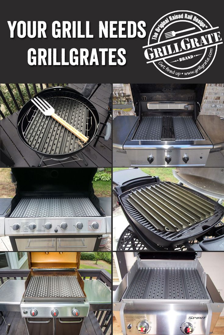 GrillGrates Will Make Any Grill Better. They Eliminate Flare Ups U0026 Even The  Heat Across The Entire Grill Surface. GrillGrates Give You Steak House  Quality ...