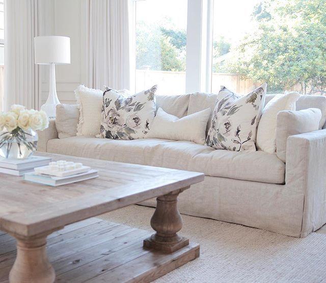 Restoration Hardware Sofa Throws: @jshomedesign, Floral Throw Pillows, Restoration Hardware