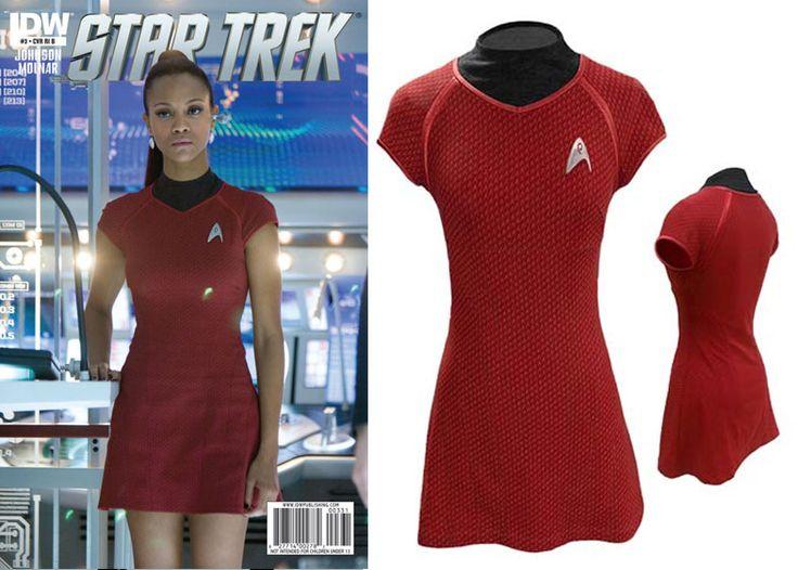 Star Trek Into Darkness Uhuru Uniform