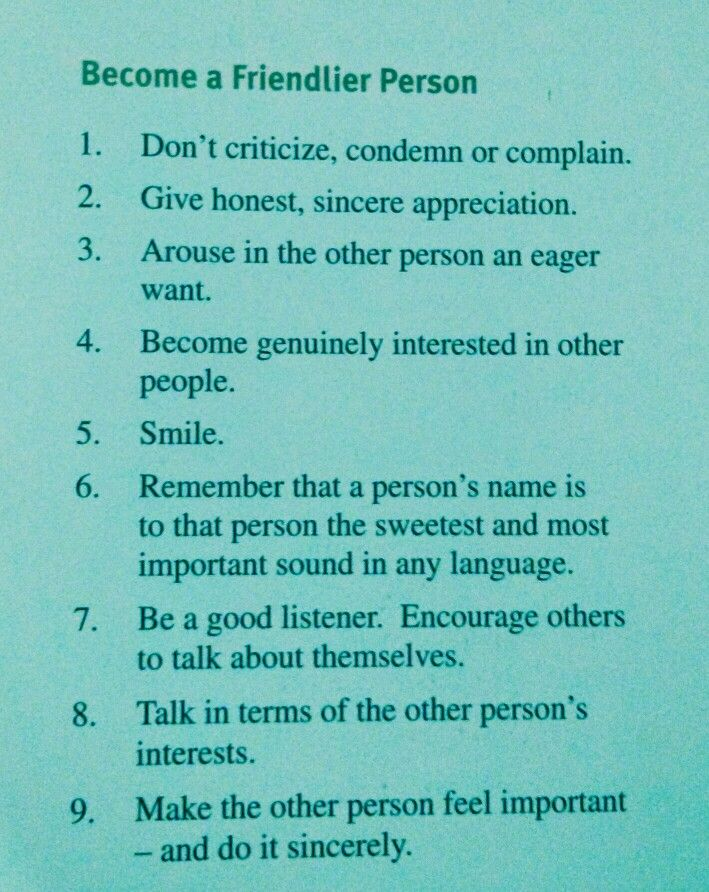 Dale Carnegie's Principles #buildmyidea