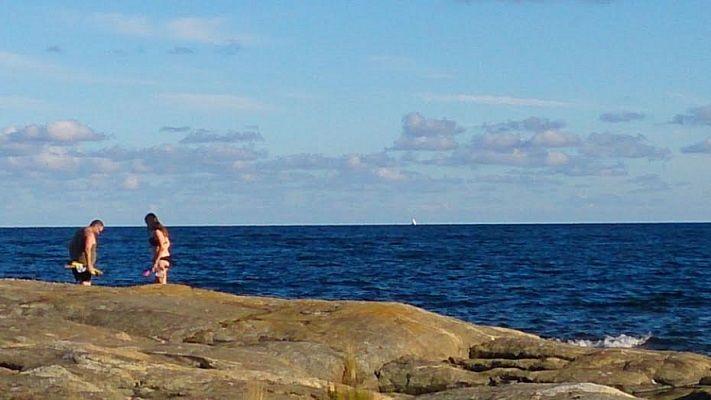 Tälta vid havet