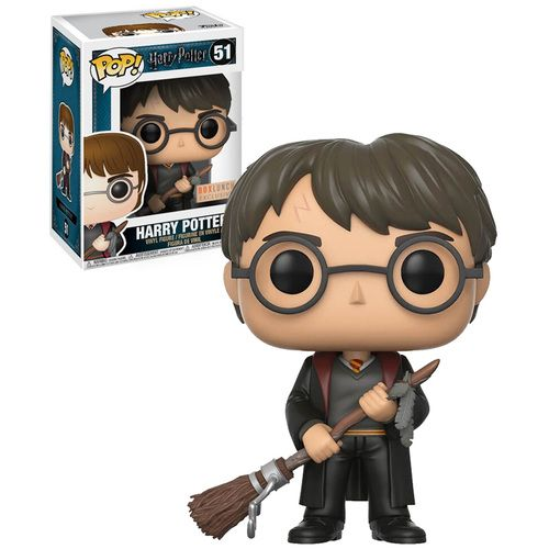 Funko POP! Box Lunch Exclusive #51 Harry Potter (With Firebolt Broom)