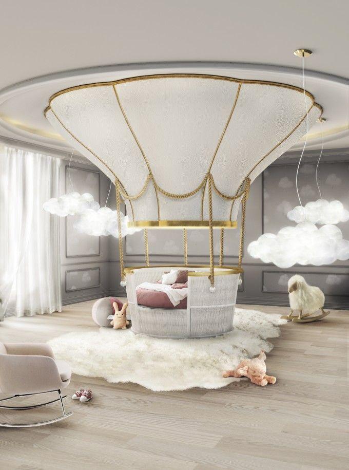Erstaunliches Luxus Schlafzimmer für das perfekte Wohndesign | Samt Polsterei | Messing Möbel | BRABBU Inspirationen | www.brabbu.com