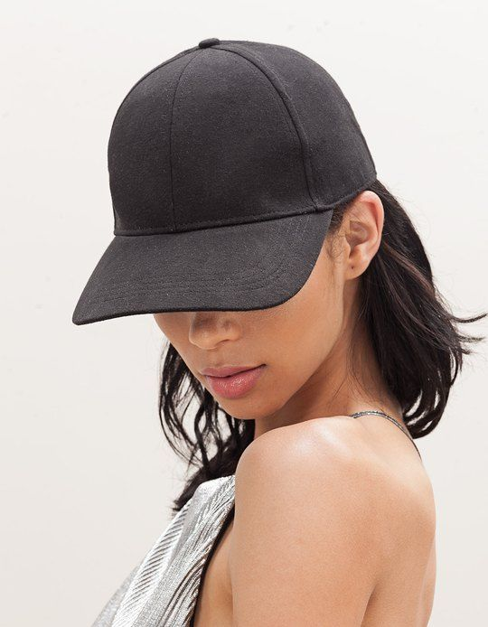 At Stradivarius you'll find 1 Black sports cap for woman for just 349 UAH . Visit now to discover this and more CAPS AND HATS.