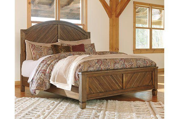 Colestad King Panel Bed Ashley Furniture Homestore Panel Bed